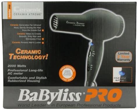 Babyliss Infrared Hair Dryer babyliss pro bab2000 ceramix xtreme hair dryer reviewed