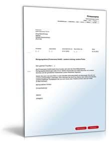 Werbebrief Vorlagen Muster Werbebrief Reinigungsdienst Vorlage Zum
