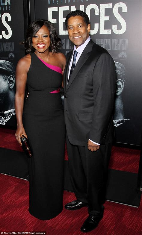 denzel washington viola davis denzel washington and viola davis lead diverse cast at new