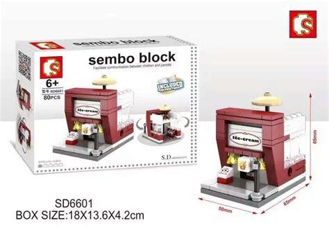 Sembo Block Mc D sembo blocks mini world shop sd6601