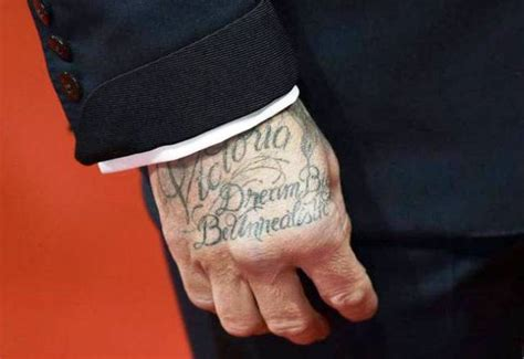 david beckham tattoo on his hand david beckham s 40 tattoos their meanings body art guru