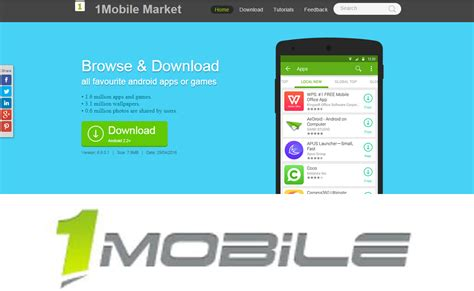 one mobile market apk 1mobile market app store android apps store apk