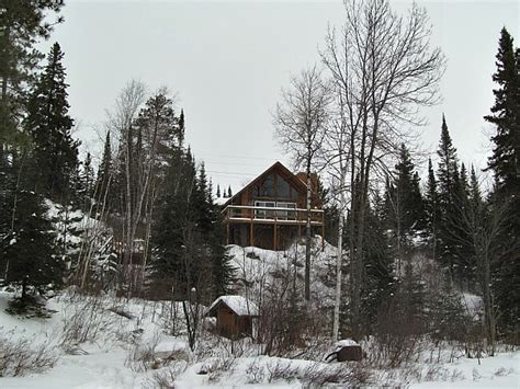 the cure for cabin fever is a cabin in the northwoods