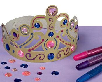 How To Make A Paper Princess Tiara - 20 diy craft ideas for your kid s birthday