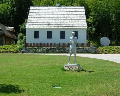 Birthplace Of Nikola Tesla Nikola Tesla S Birth House Smiljan Croatia Nikola Tesla
