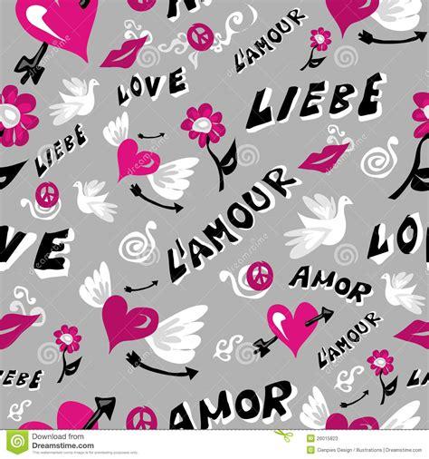 seamless pattern love love icons seamless pattern stock photos image 26015823