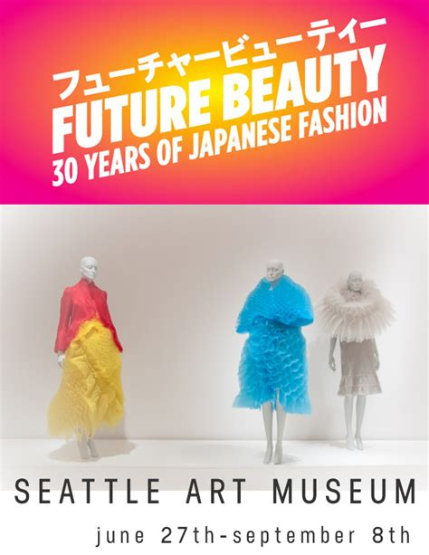 future beauty 30 years future beauty 30 years of japanese fashion at seattle art museum