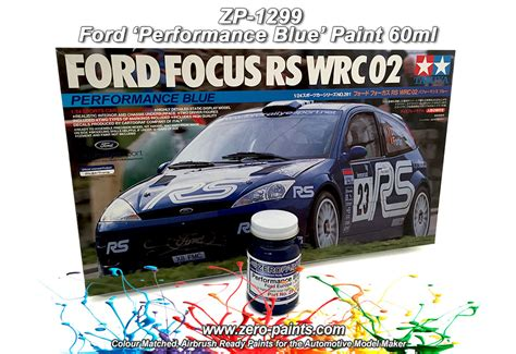 St Dasblue Zp ford st performance blue 3cvc paint 60ml zp 1299 zero paints