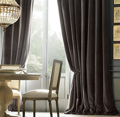De Velvet Grey best 25 grey velvet curtains ideas on white
