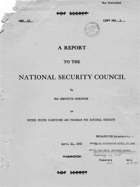national security council paper 68 nsc 68 atomic