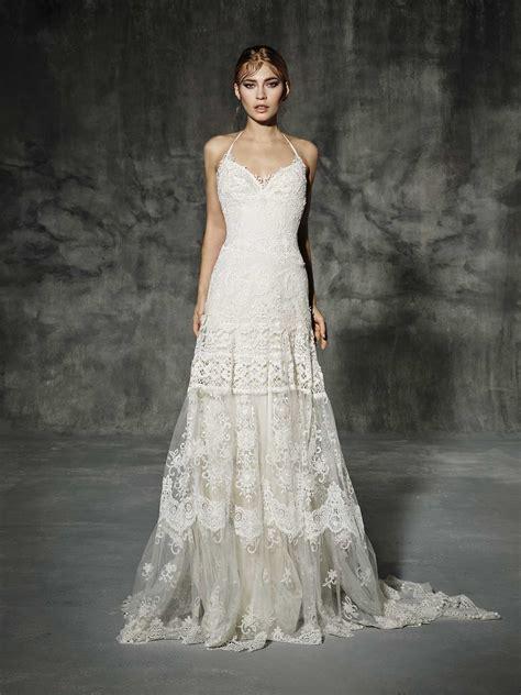 Boho Wedding Dress by Yolancris Boho Wedding Dress Martinica