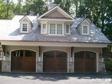 Three Car Garage Plans Traditional by