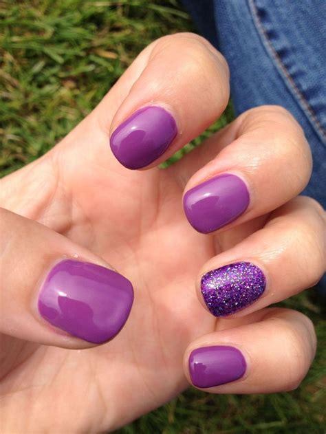 great ideas  purple gel nails  pinterest