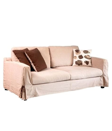 best price two seater sofa elba solid wood 2 seater sofa buy online at best price in