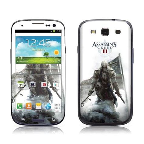 Samsung Galaxsy Ac 3 assassin s creed 3 phone skin the assassin s photo 32775337 fanpop