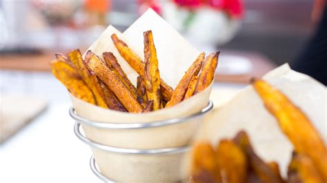 Detox Sweet Potato Fries by The Taco Cleanse Is A Thing And Aniston Is