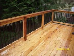 Decking Handrail And Spindles Metal Deck Railing Spindles 187 Design And Ideas