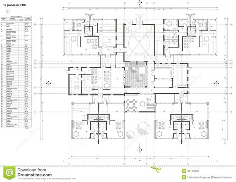 floor plan for preschool floor plan of the kindergarten stock illustration