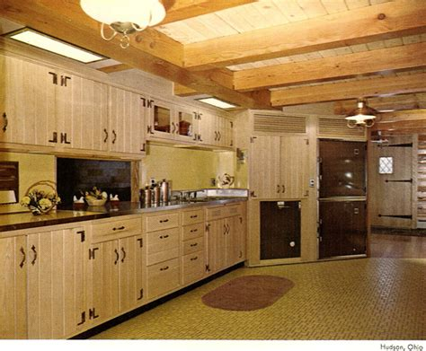 old wooden kitchen cabinets 1960 s kitchens bathrooms more retro renovation