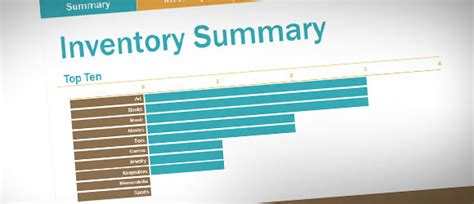 Free Inventory Log Template For Excel 2013 Inventory Powerpoint Presentation Template
