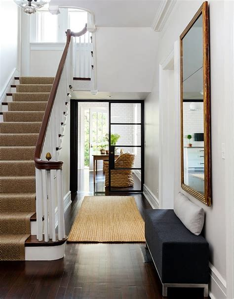 entryway stairs boxwood clippings 187 blog archive 187 interior design a hint