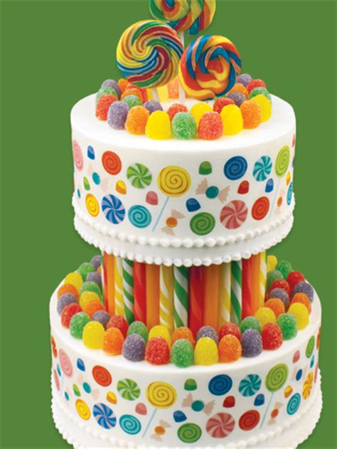 How To Decorate A Tiered Cake by Decorating Idea Candyland Tiered Cake