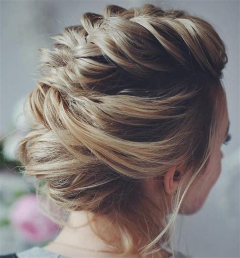 hairstyles that can be done with plats 50 hottest prom hairstyles for short hair updo updos