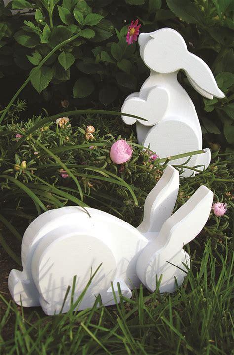 layered garden bunnies scroll  woodworking crafts