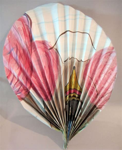 How To Make A Japanese Fan Out Of Paper - japanese fan craft kinderart