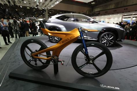 lexus motorcycle lexus nbx concept mountain bike wins us