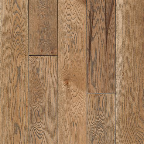 Solid Oak Hardwood Flooring Shop Bruce America S Best Choice 5 In Naturally Gray Oak Solid Hardwood Flooring 23 5 Sq Ft At