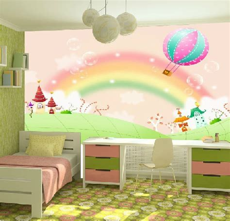 free shipping large murals children s room bedroom