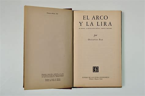 libro hugo y el arco el premio xavier villaurrutia 1956 a el arco y la lira de octavio paz literal magazine