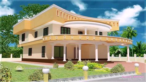 home design for village in india kerala style house painting design youtube