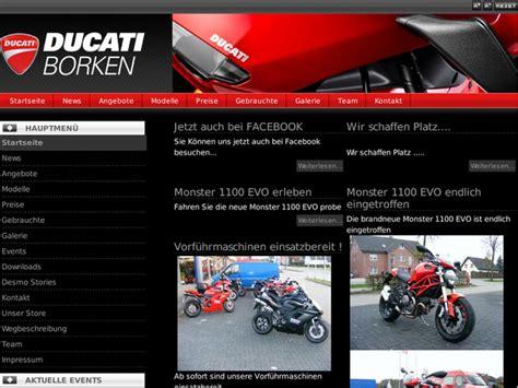 Motorrad Ducati Borken ducati borken in raesfeld motorradh 228 ndler