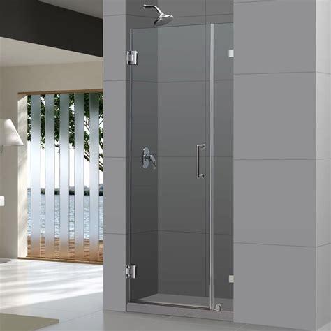 Solid Glass Shower Doors Dreamline Unidoorlux Frameless Shower Door 33 Quot 36 Quot X 72 Quot By Dreamline Frameless Shower