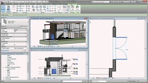 tutorial autocad lt 2012 autodesk revit getting started in revit 2013 youtube