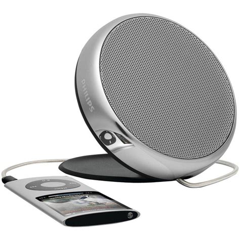 Roxys Portable Sonic Ipod Speakers by Philips Sonic Style Mp3 Portable Speaker For All Players