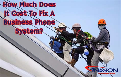 how much does it cost to fix a light how much does it cost to fix a business phone system