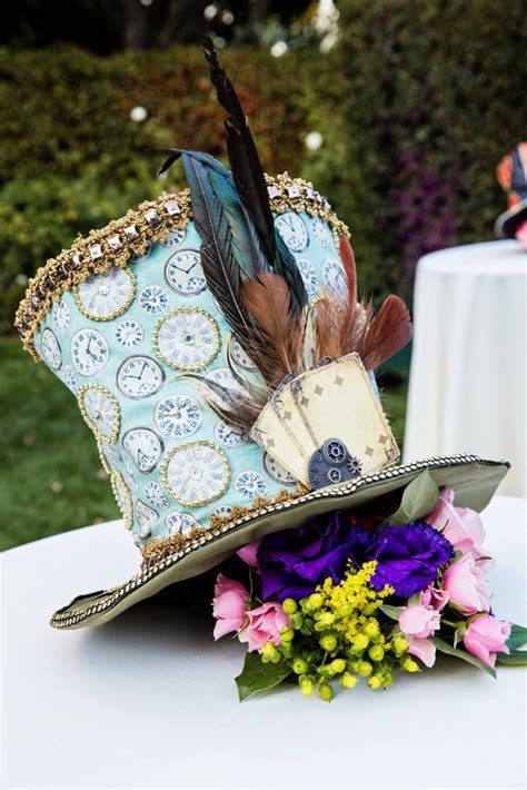 mad hatters floral centerpieces and tea parties on pinterest