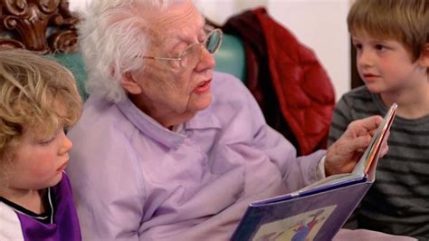 unique preschool inside a nursing home enriches the lives