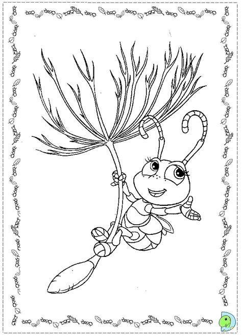 a bugs life coloring pages coloring pages
