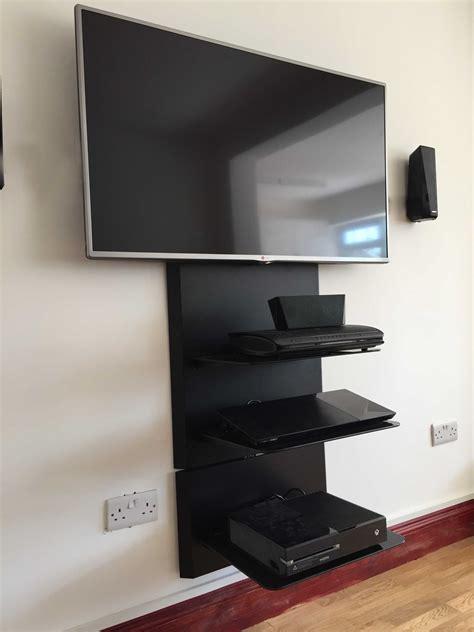 superior Tv Wall Mount Above Fireplace #5: blade-2-plus-1-AV-shelf.jpg