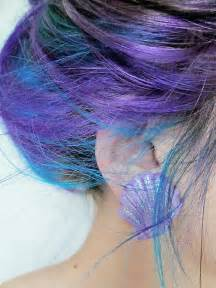 purple blue hair color hair in blue and purple hair colors ideas