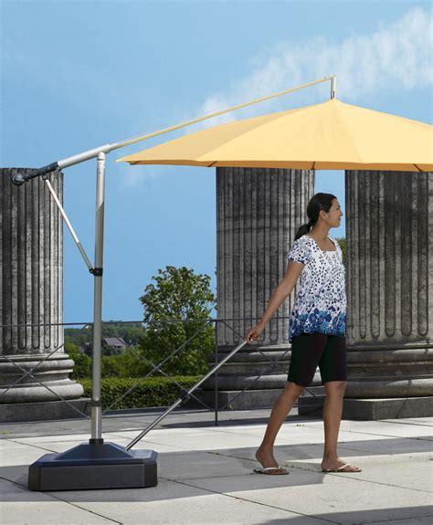 Sonnenschirm Sockel Fahrbar by Sonnenschirmst 228 Nder Liro 171 Midi Plus 100k Kunststoff Anthrazit 187 Schnellspannung Shop