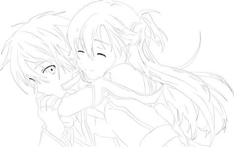 anime coloring pages sword art online sword art online happy final by piodanilo on deviantart