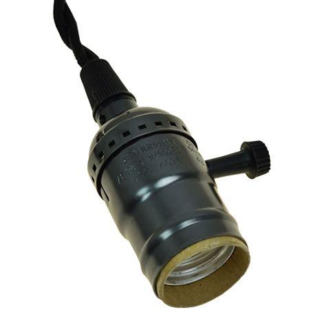 socket pendant light l cord black socket twisted cloth cord pendant light