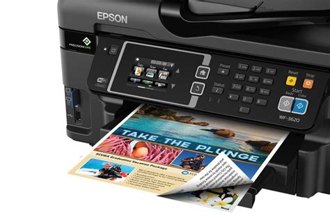 Printer Epson Wf 3620 epson workforce wf 3620 all in one printer inkjet printers for work epson us
