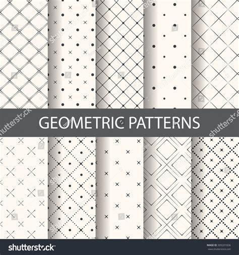 rhombus pattern texture 10 different rhombus patterns endless texture stock vector