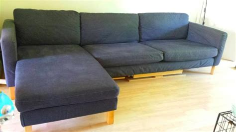 Karlstad Sofa And Chaise Lounge Ikea Karlstad 3 Seat Sofa And Chaise Lounge For Sale In Clonee Dublin From Aggieie